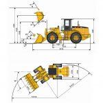 Фронтальный погрузчик liugong clg 856 – Фронтальный погрузчик CLG 856 — цена, описание, технические характеристики, внешний вид, комплектация, дополнительное оборудование