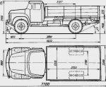 Объем кузова зила – Грузовик ЗиЛ 130 – полная характеристика автомобиля. Технические параметры, Габаритные размеры. Отзывы владельцев