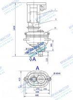 Редуктор у3515 – У3515 редуктор механизма поворота башенного крана Валы, шестерни и колеса зубчатые для ремонта приводов и редукторов башенного крана.