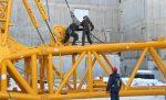 Секция крана башенного крана – демонтаж, сборка, установка, перебазировка, как поднимают, стоимость